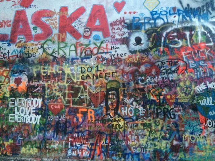 Graffiti on Lenin Wall