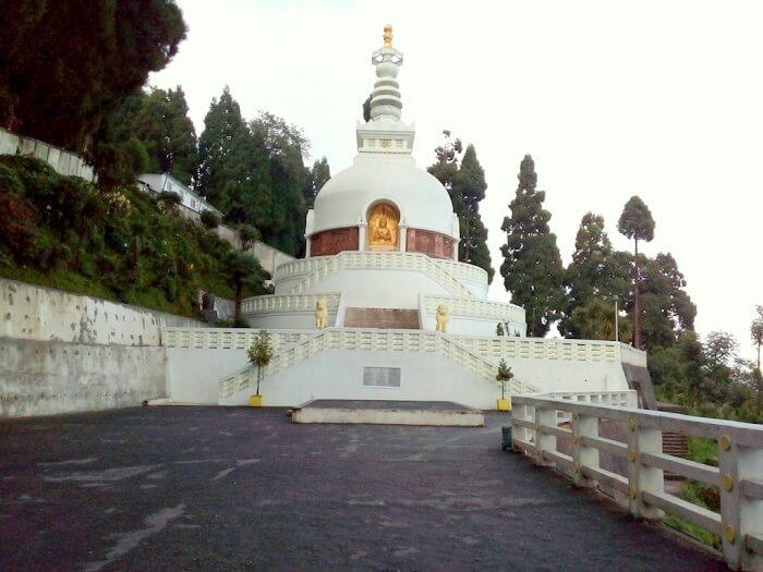 Temple in Darjeeling