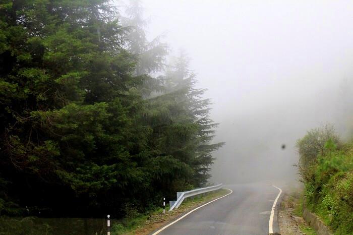 Road leading to Chakrata