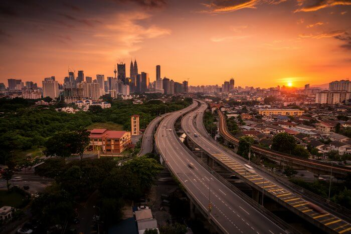 Drive to and commute in Malaysia via its super smooth roadways