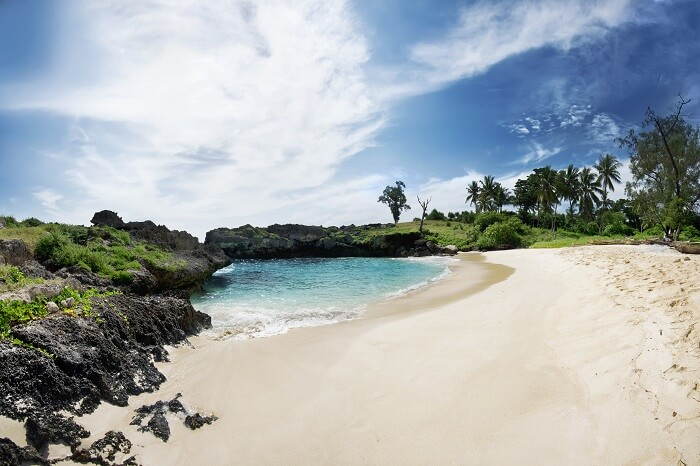 The pristine Mandorak Beach in Sumba