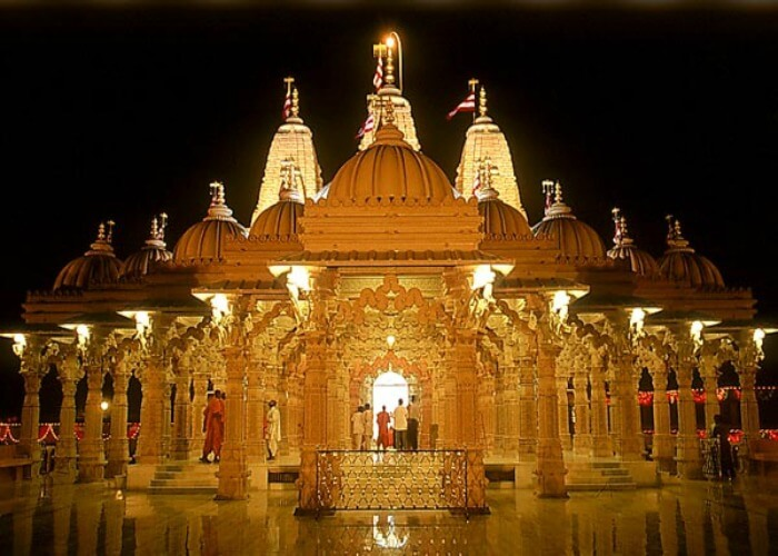 Seek blessings at the Somnath Temple