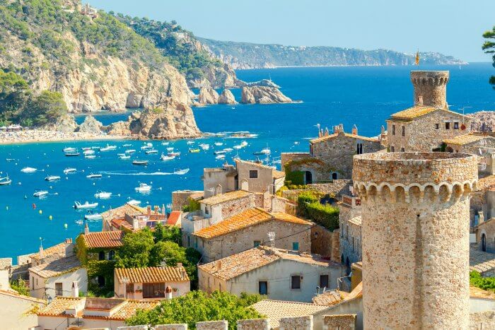 A blissful town on the shores of Spain