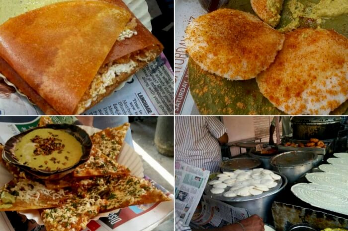 South Indian food varieties at Lakshman Ki Bandi