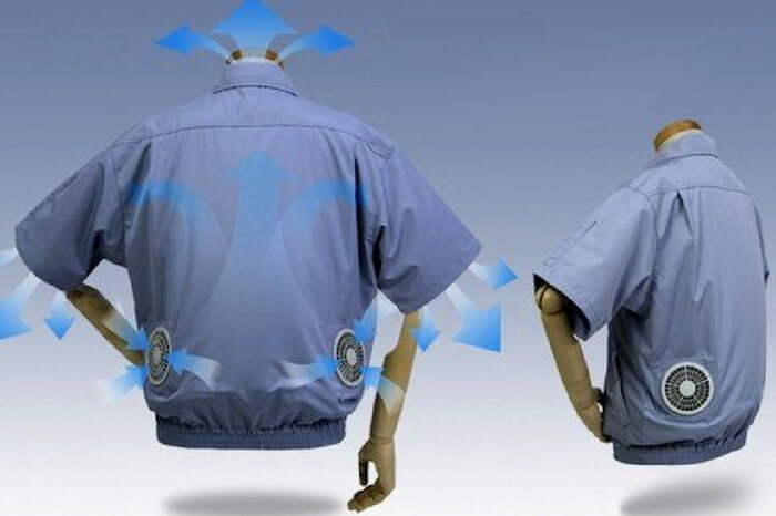 How air conditioned shirts regulate the air