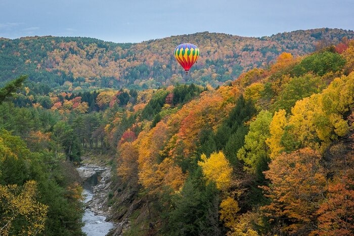 balloon over vermont