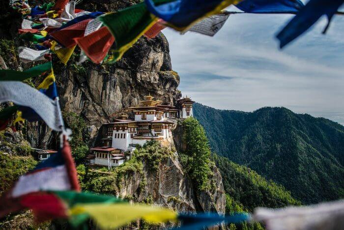 Paro Taksang Monastery in Bhutan