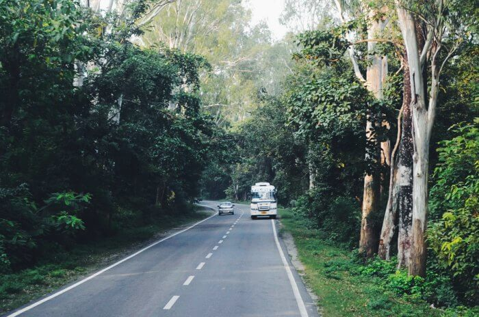 the joyful bus journey from delhi to mukteshwar