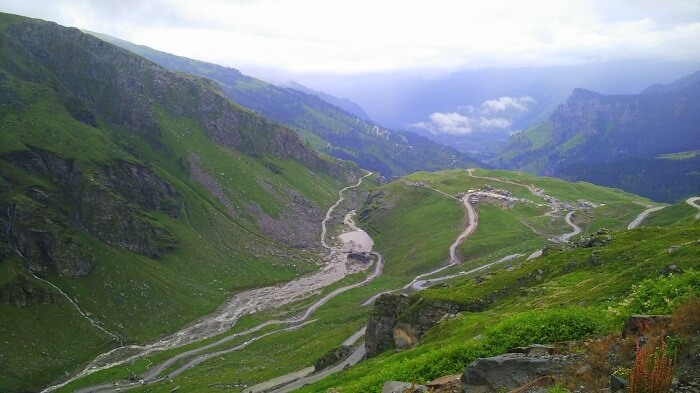 Beautiful sceneries of Himalayas