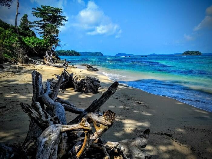 Beautiful Radhanagar beach in Havelock