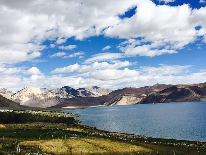 Beautiful Pangong lake in Ladakh