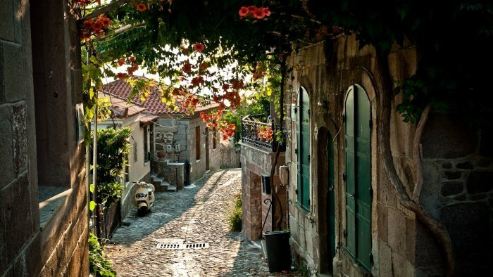 The enchanting streets and houses of France