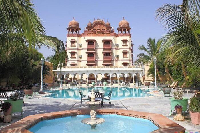The royal grandeur of the Jagat Palace in Ajmer