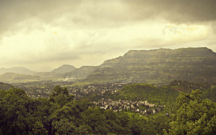 Lovely landscape of Khopoli