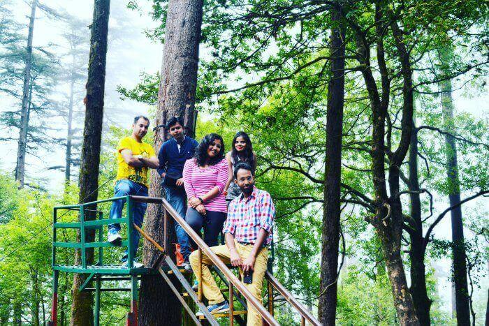 Me & the gang having fun at Eco Park