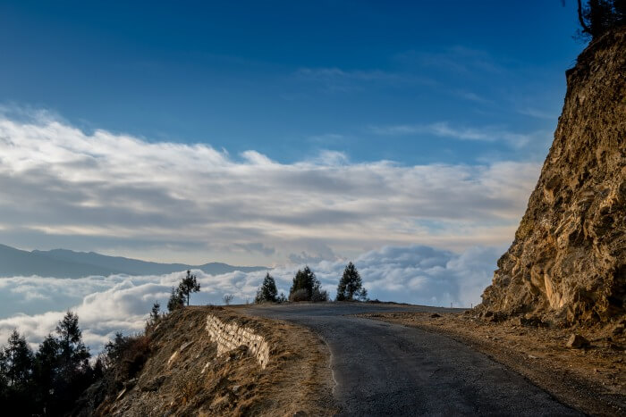 Have an exciting road trip to Bhutan amidst hills