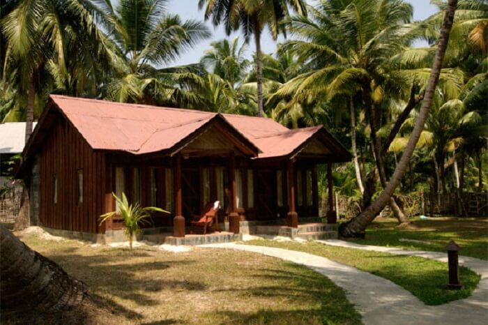 The ultra-luxurious stay options at the Silver Sand Beach Resort in Havelock