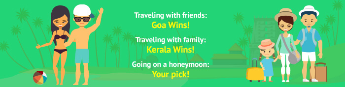 what's your pick out of goa & kerala?