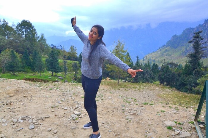 Avneet in Himachal