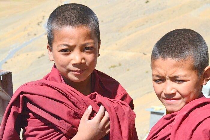 Monks in Kaza