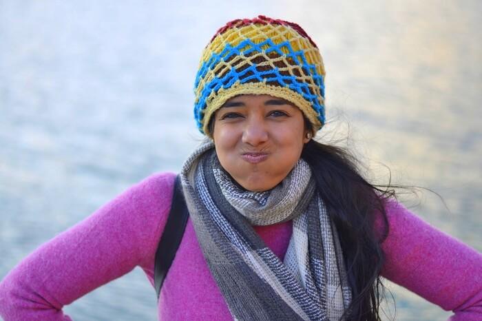 Avneet at Chandra Tal Lake