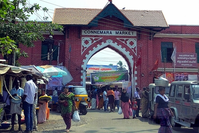 Entrance to the Connemara Market in Trivandrum