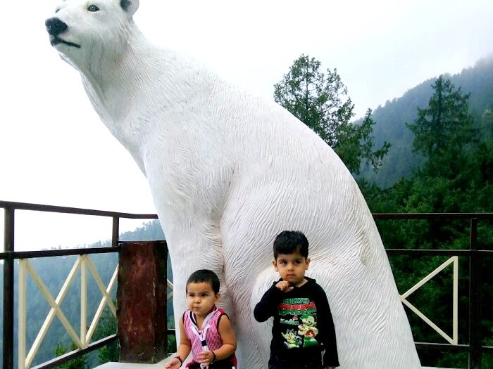 Children having a great time in Himachal