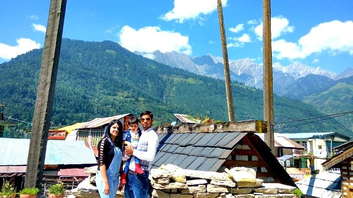 Stunning view of the valley in Himachal