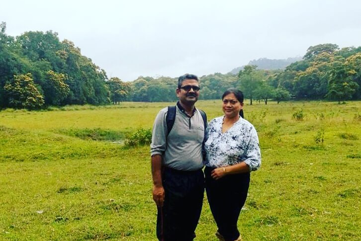 anuj and his wife's trip to Kerala