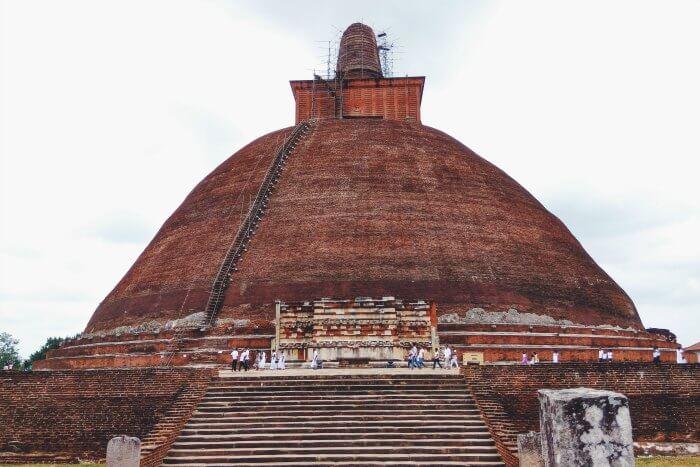 Jetavanaramaya in Anuradhapura