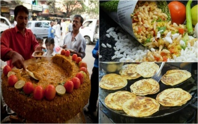 Kolkata Street Food Collage