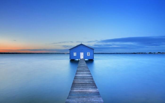 Matilda Bay in Perth