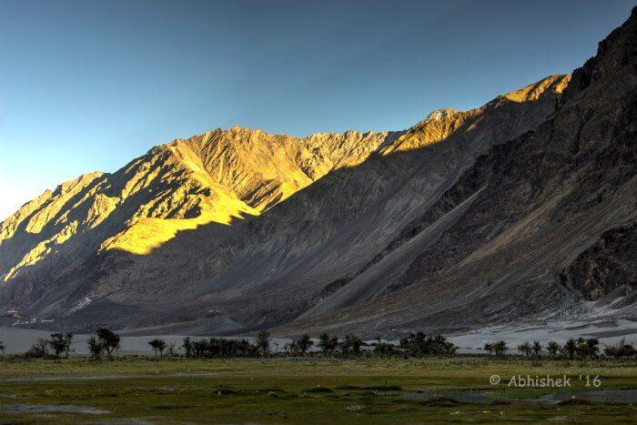 The stunning Nubra Valley
