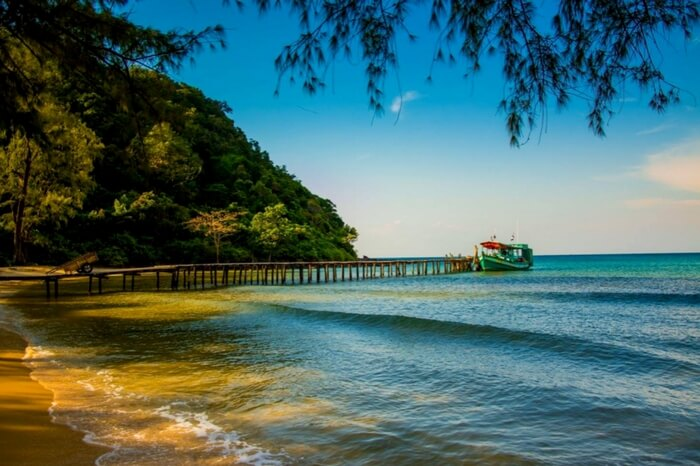 A captivating view of Lazy beach on the Koh Rong island