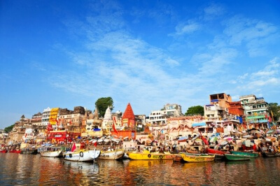 View of Varanasi during day