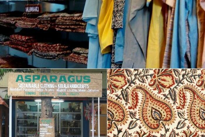Multiple snaps taken at the Asparagus handicrafts shop in Varkala