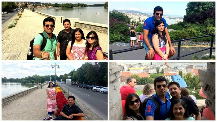 Memories with family in Europe