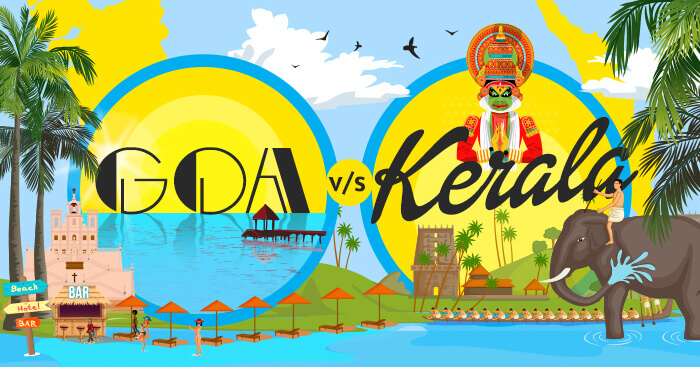 Goa vs Kerala inforgaphic
