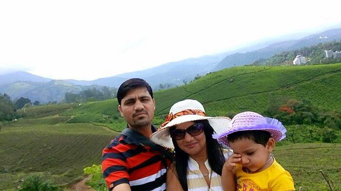 Family vacation in Kerala