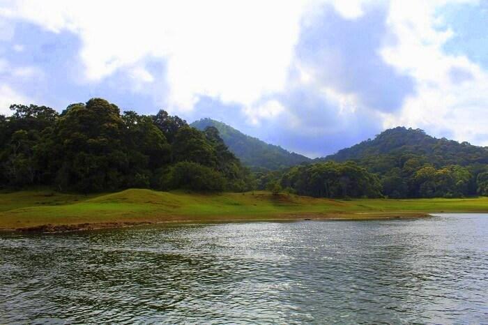 Periyar lake and nature in Kerala