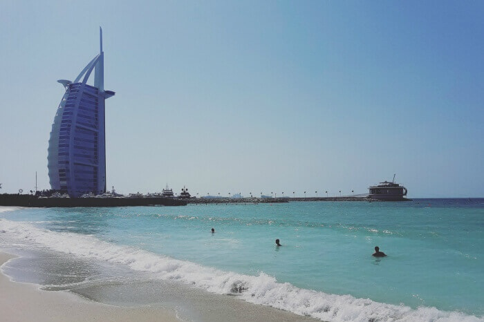 the jumeirah beach & burj al arab hotel