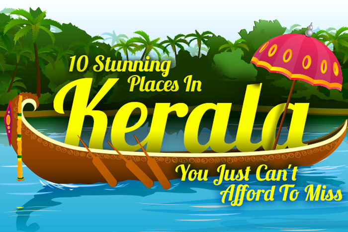 10 Places to visit in Kerala