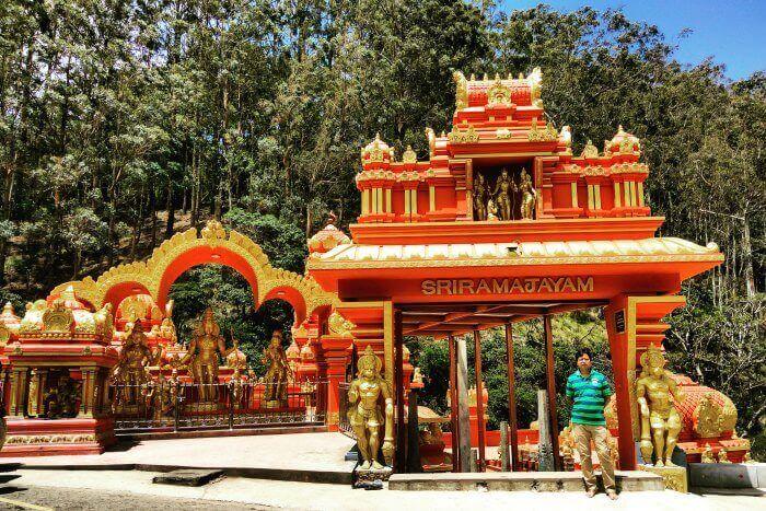 sriramajayam temple in nuwara eliya