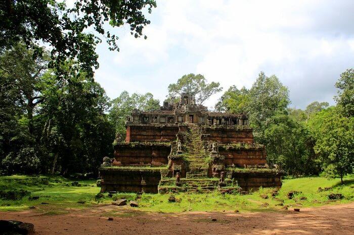 Beauty of Angkor Wat temple