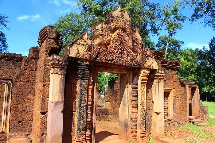 Angkor Wat Temple beautiful architecture