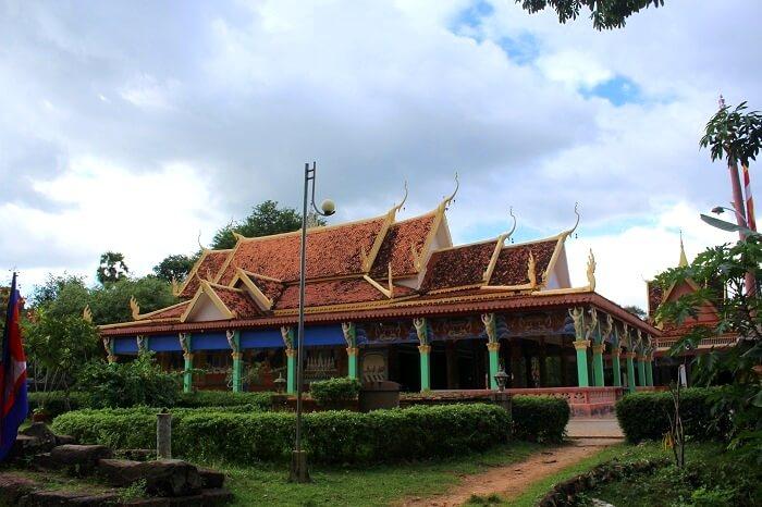 Beautiful architecture of Cambodia