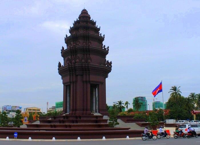Beautiful streets of Cambodia