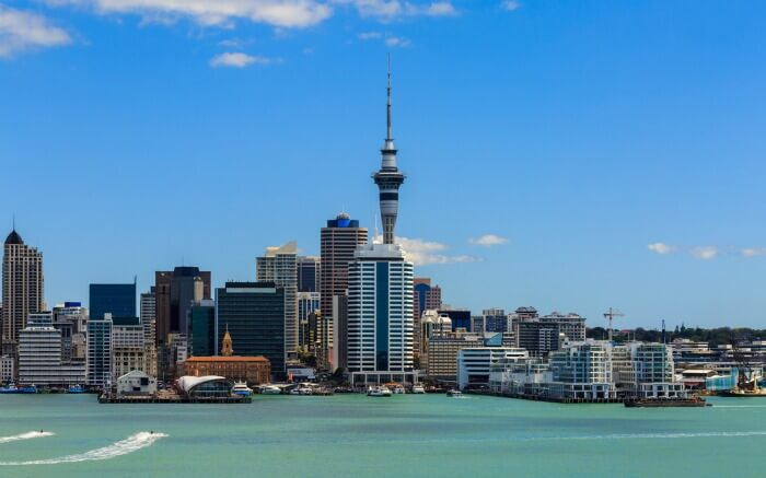 Sky Tower in Auckland is one of the most popular places to visit in Auckland