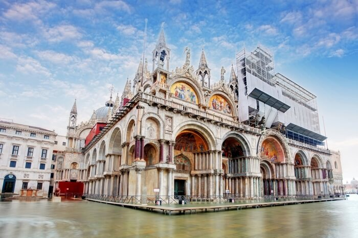 A glorious view Basilica di San Marco in Venice