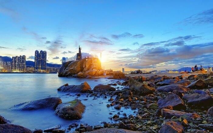 Big Wave Bay in Hong Kong